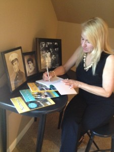 Unforgettable Faces & Stories series driving force Eileen Doyon