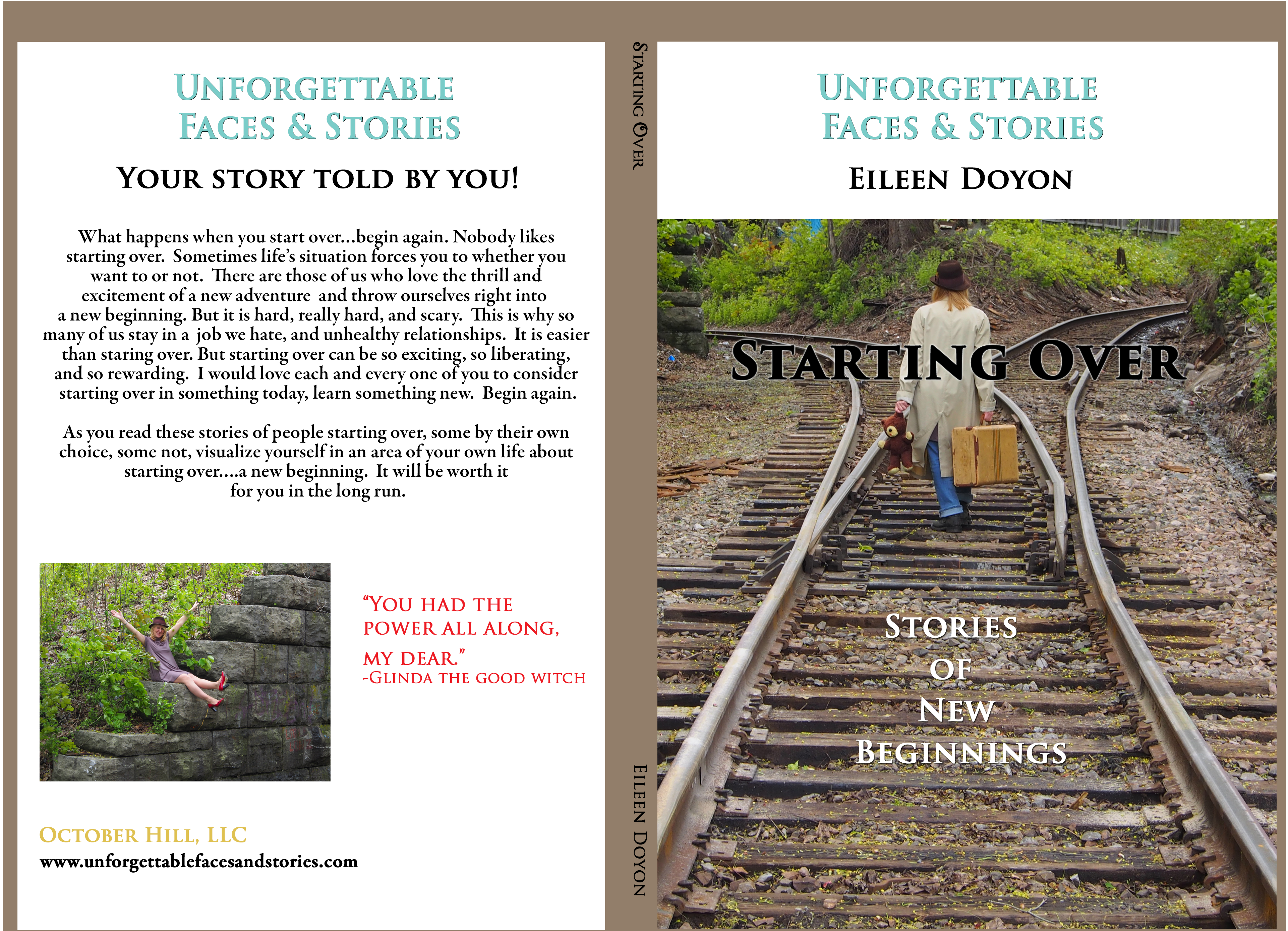 Starting Over: Stories of New Beginnings Full Cover