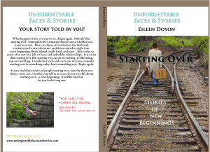 "Why I share my story along with others contributors in ""Starting Over: Stories of New Beginnings"""