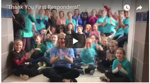 """Thank You First Responders!"" with Fort Edward NY 3rd Graders"