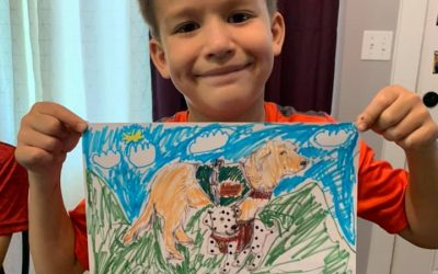 Congratulations CJ on winning our coloring contest!!!
