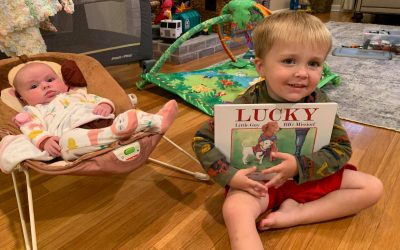 Our newest fans of Lucky…Little Guy, BIG Mission